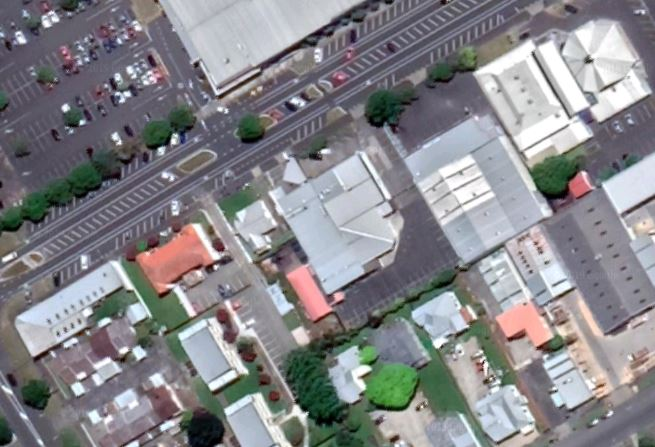 Aerial View of Gateways Christian Fellowship